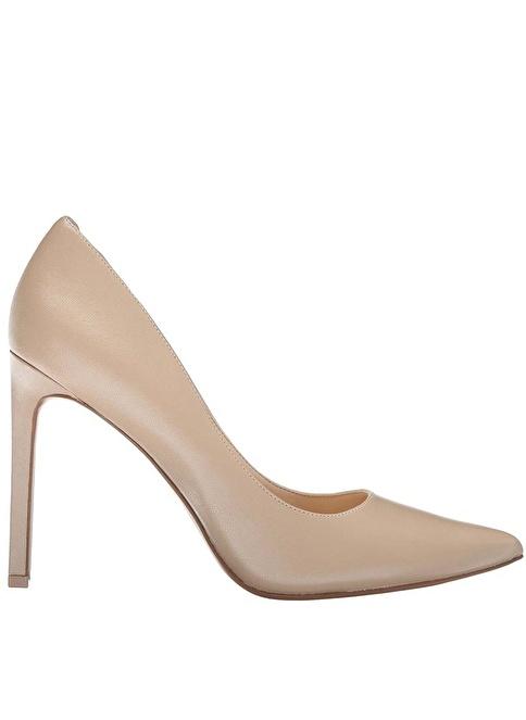 Nine West Süet Stiletto Ayakkabı Ten